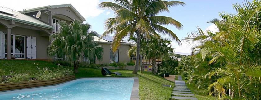 Location de vacances - Chambre d'hôtes à L'Étang-Salé
