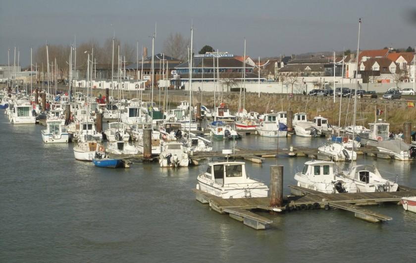Location de vacances - Gîte à Frencq - Port  de  Etaples