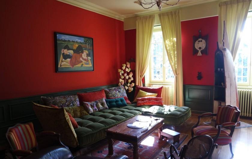 Location de vacances - Villa à Andancette - Le salon des Hôtes