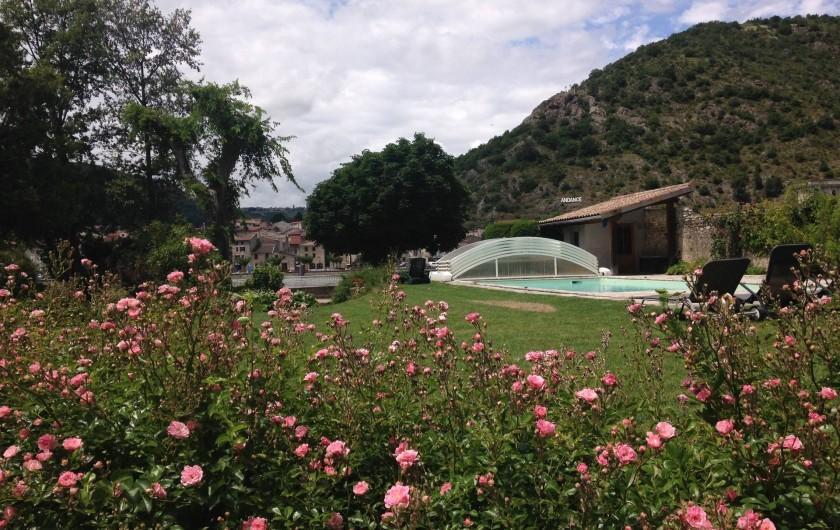 Location de vacances - Villa à Andancette - Côté couchant