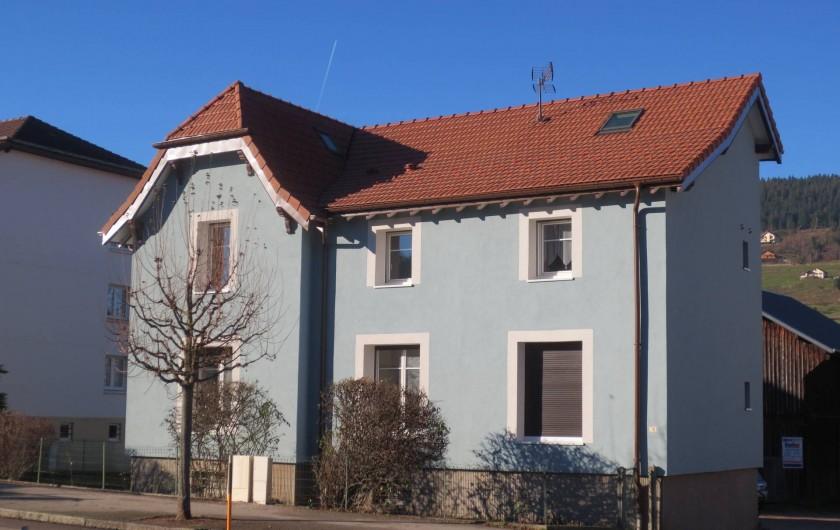 Location de vacances - Appartement à Gérardmer - La Maison Bleue
