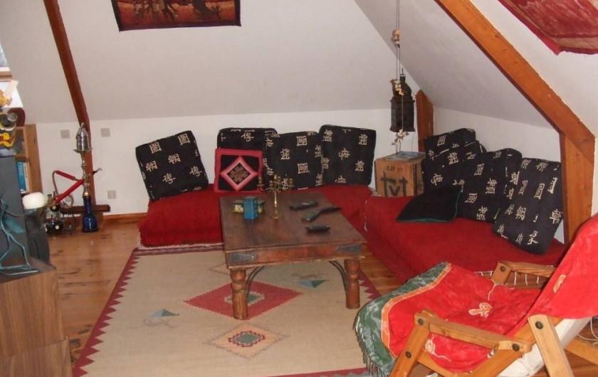 Location de vacances - Villa à Cormelles-le-Royal - Salon du haut