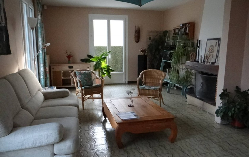 Location de vacances - Villa à Cormelles-le-Royal - Salon