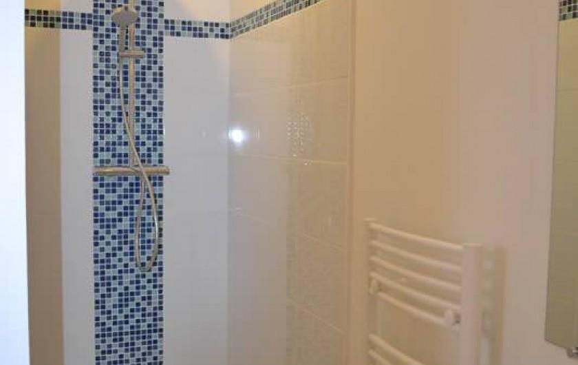 Location de vacances - Gîte à La Baconnière - Salle de douche rez-de-chaussée