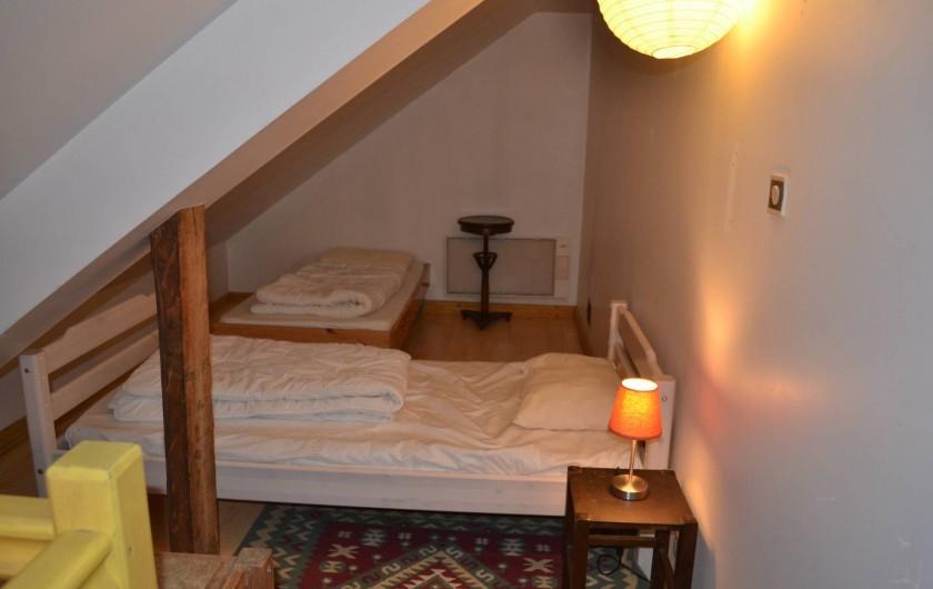 Location de vacances - Gîte à La Baconnière - Mezzanine (2 lits 90x190)