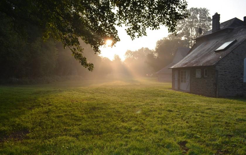 Location de vacances - Gîte à La Baconnière - Parc soleil levant