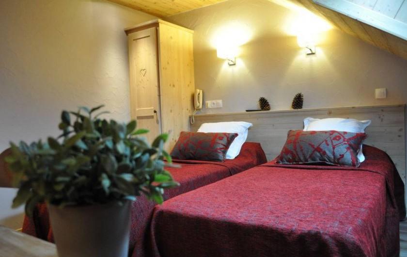 Location de vacances - Hôtel - Auberge à Thônes - Chambre Hôtel/ Appartement