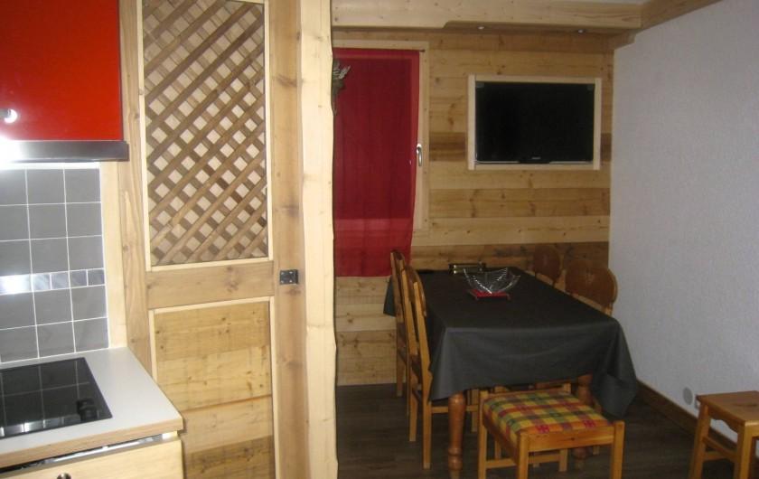 Location de vacances - Appartement à Valmorel - Coin repas