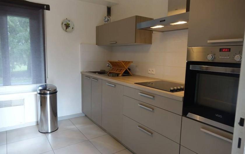 Location de vacances - Maison - Villa à Fondettes - cuisine côté cuisson
