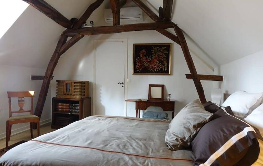 Location de vacances - Maison - Villa à Fondettes - chambre 1  coin coiffeuse
