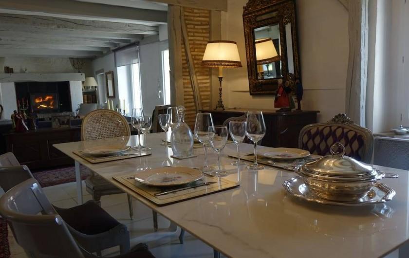 Location de vacances - Maison - Villa à Fondettes - coin repas