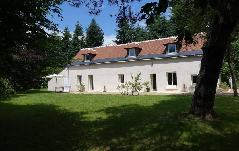 Location de vacances - Maison - Villa à Fondettes - Façade longère