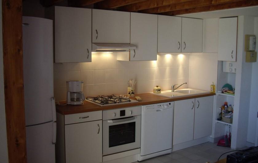 Location de vacances - Appartement à Le Cap d'Agde - LA CUISINE TOUTE EQUIPEE