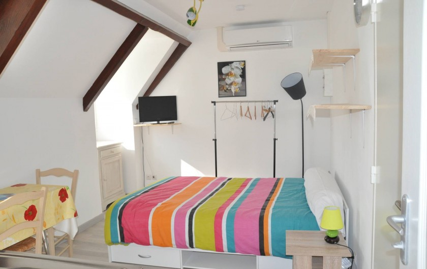 Location de vacances - Studio à Curemonte - Studio jaune
