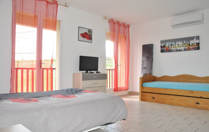 Location de vacances - Studio à Curemonte - Studio rouge
