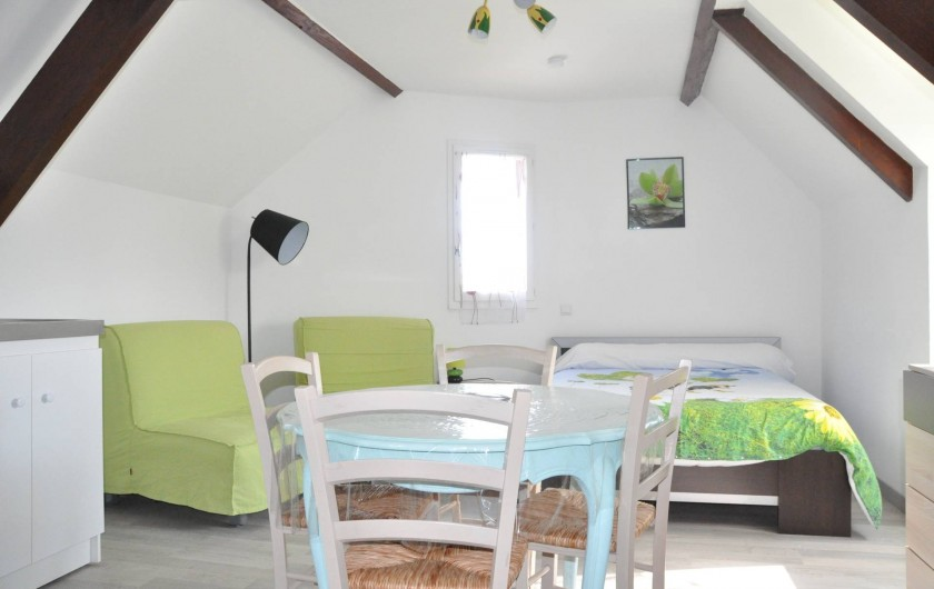 Location de vacances - Studio à Curemonte - Studio vert