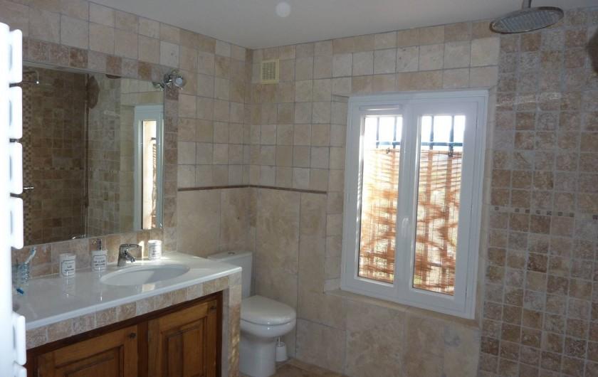 Location de vacances - Chambre d'hôtes à Bargemon - Salle de bains chambre 1
