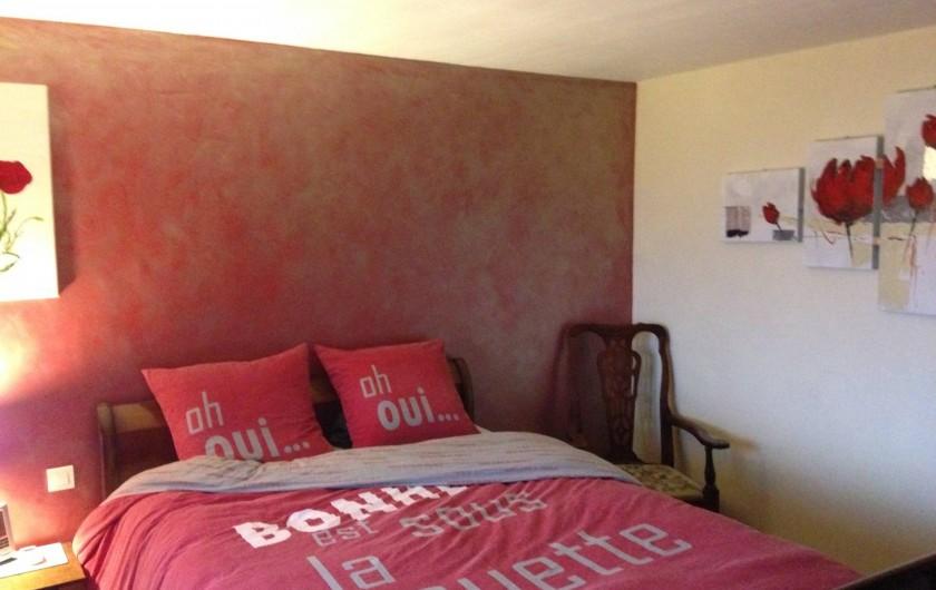Location de vacances - Chambre d'hôtes à Bargemon - Chambre 1 en suite climatisée
