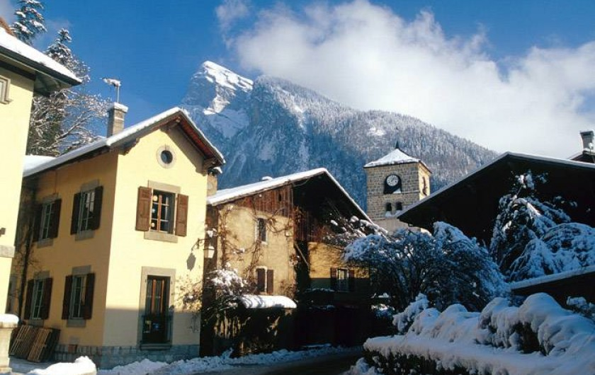 Location de vacances - Chalet à Samoëns - samoëns village