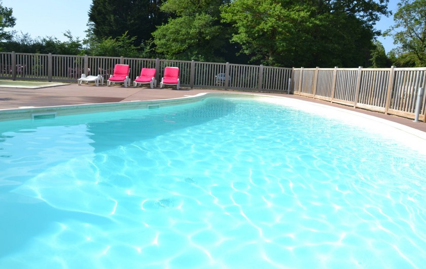 Location de vacances - Insolite à Pressac - La piscine
