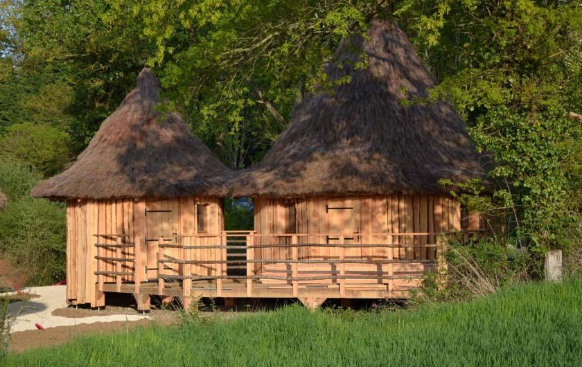 Location de vacances - Insolite à Pressac - Lodge tout confort