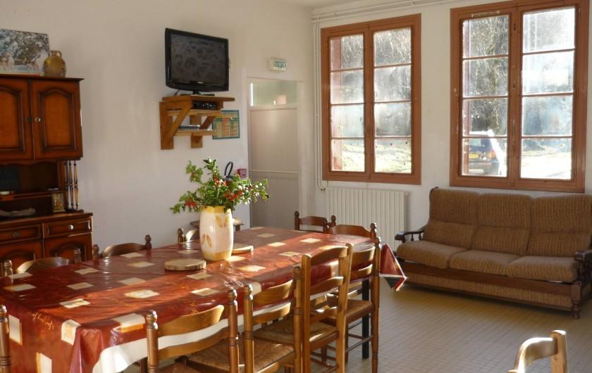 Location de vacances - Gîte à Estaing - Salle à manger