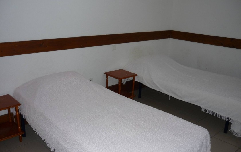 Location de vacances - Gîte à Estaing - 3ème chambre à 2 lits