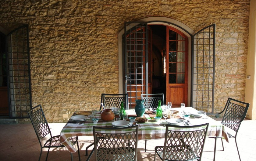 Le patio e la table