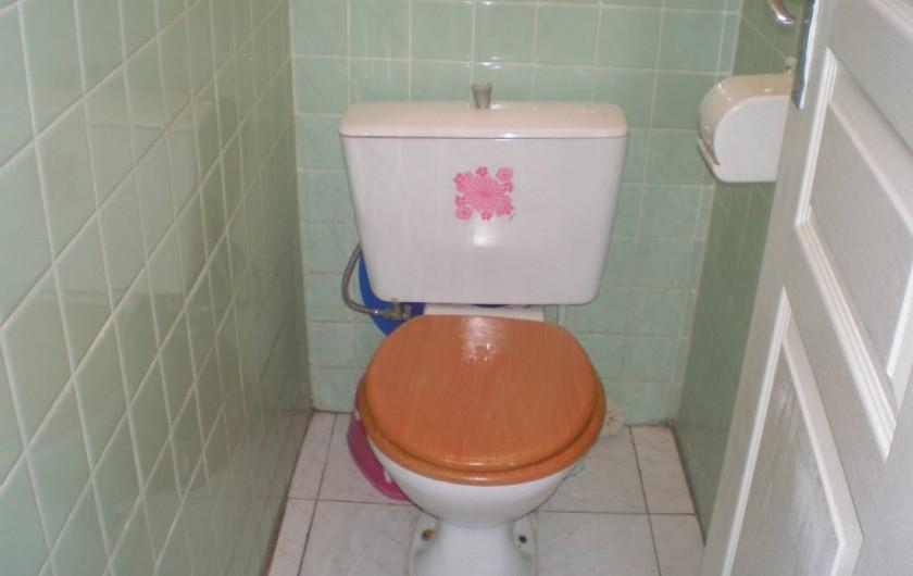 Location de vacances - Appartement à Les Anses-d'Arlet - WC indépendant
