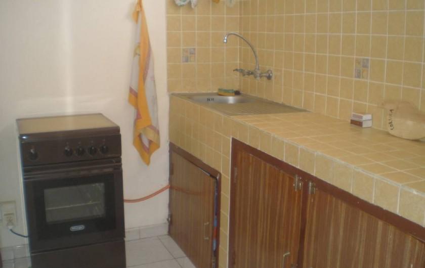 Location de vacances - Appartement à Les Anses-d'Arlet - Cuisine équipée
