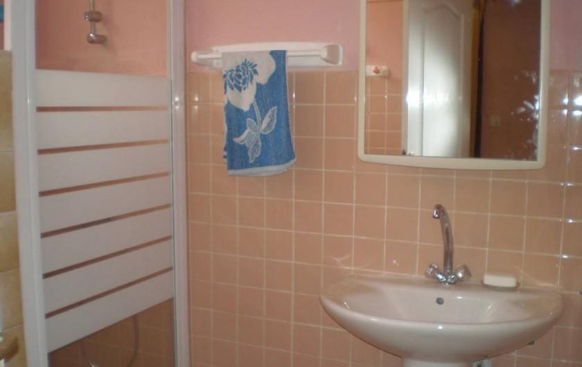 Location de vacances - Appartement à Les Anses-d'Arlet - Salle d'eau