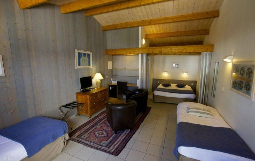Location de vacances - Hôtel - Auberge à Le Bois-Plage-en-Ré - Chambre familiale