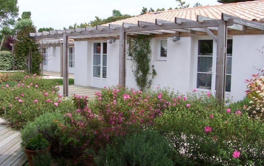 Location de vacances - Hôtel - Auberge à Le Bois-Plage-en-Ré - Chambre double confort
