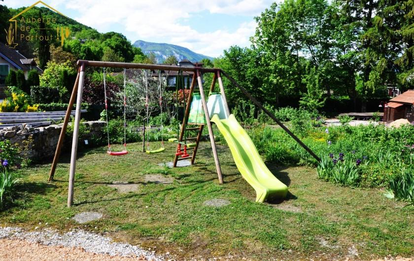 Location de vacances - Chambre d'hôtes à Chanaz - Les jeux pour enfants