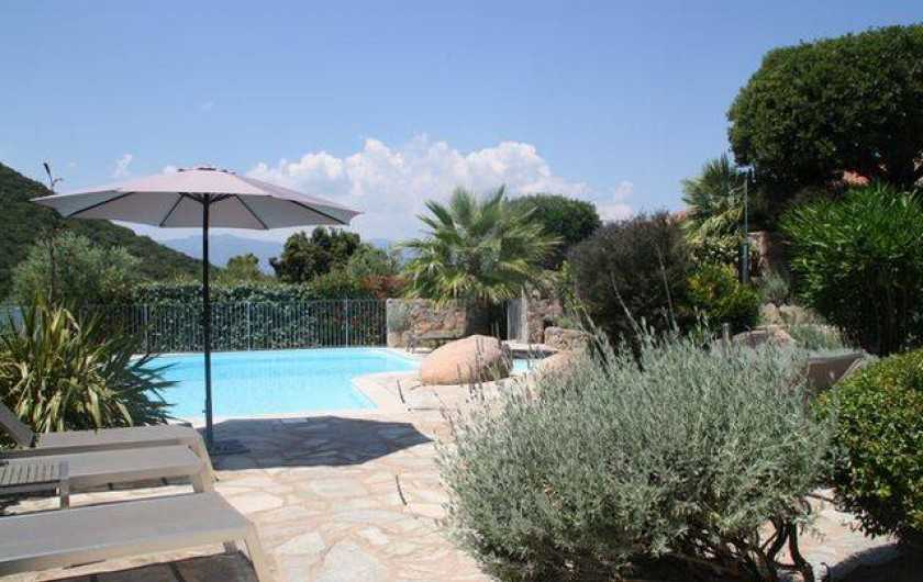 Location de vacances - Villa à Porto-Vecchio - VILLA A LOUER EN CORSE LOCATION DE PRESTIGE