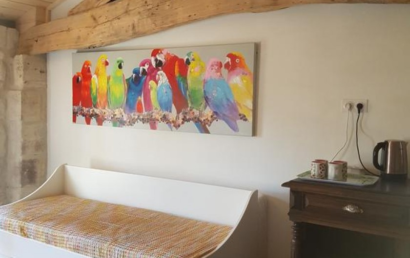 Location de vacances - Chambre d'hôtes à Laruscade - 3ème vue Canopée
