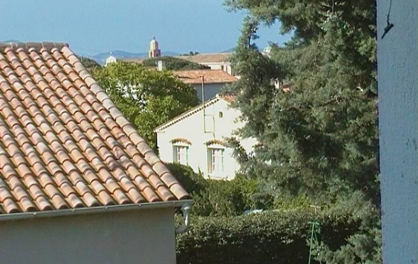 Location de vacances - Appartement à Saint-Tropez - Vue du balcon