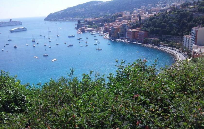 Location de vacances - Appartement à Nice - Villefranche sur mer