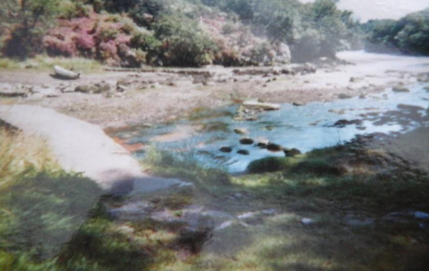 Location de vacances - Villa à Le Pouldu - Petit bras de mer voisin du  POULDU