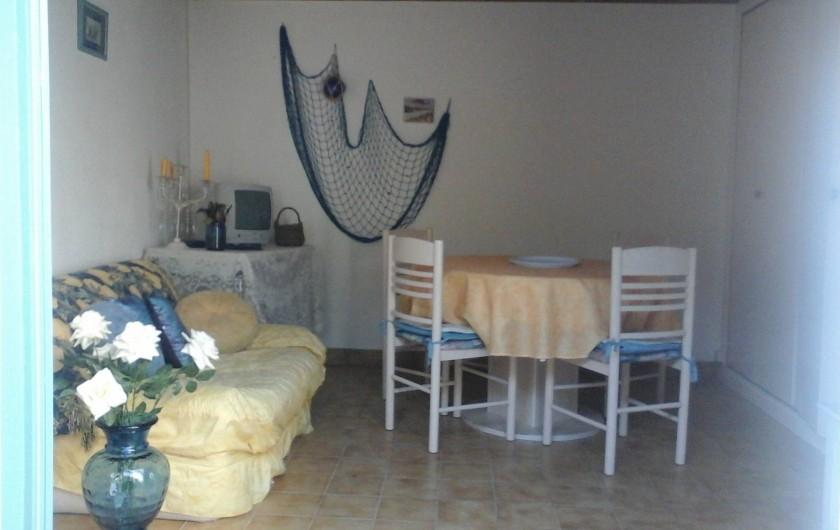 Location de vacances - Villa à Le Pouldu - Coin salle à manger salon Au POULDU