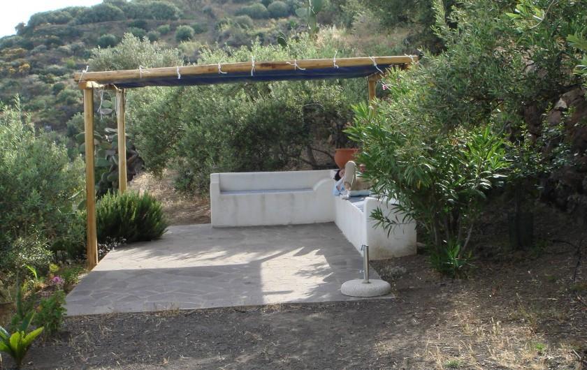 Location de vacances - Chalet à Lingua - Jardin