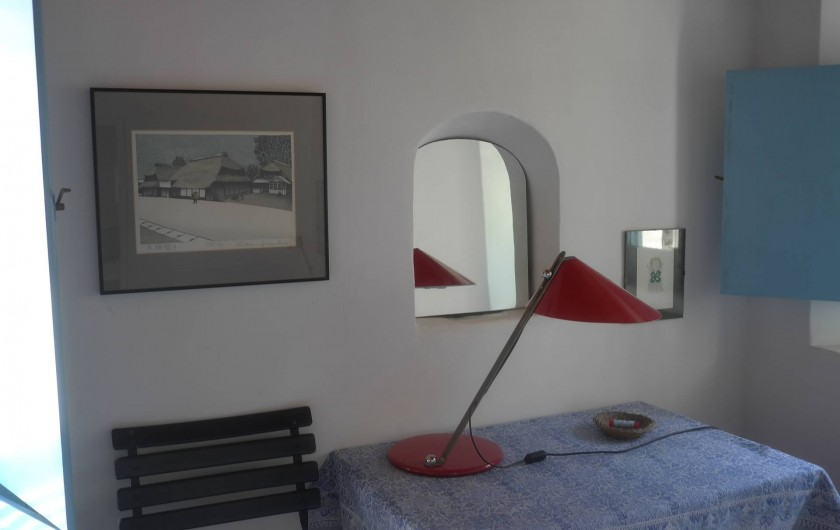 Location de vacances - Chalet à Lingua - Détail d'une des chambres à coucher