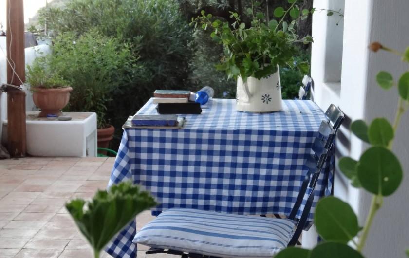 Location de vacances - Chalet à Lingua - Terrasse