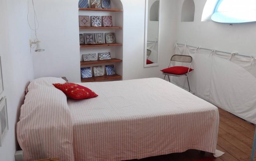Location de vacances - Chalet à Lingua - Une des chambres à coucher