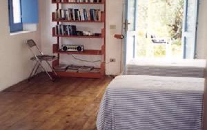 Location de vacances - Chalet à Lingua - Chambre à coucher