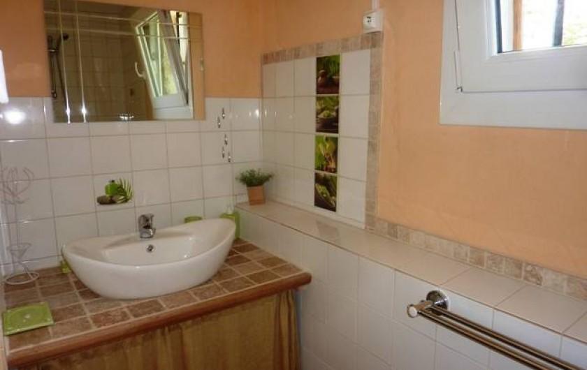 Location de vacances - Gîte à Boisset-et-Gaujac - Salle d'eau