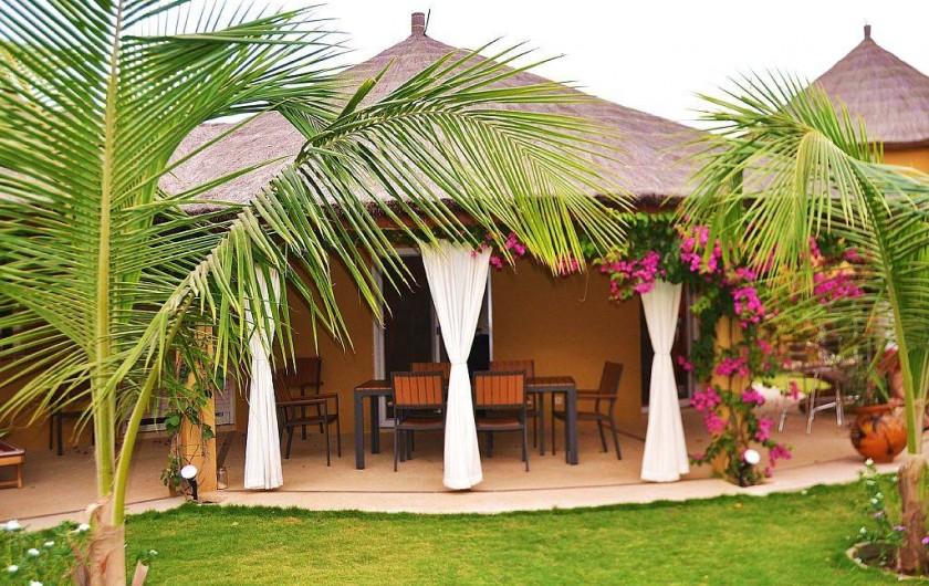 Location de vacances - Villa à Saly - La villa SLYM a été pensée pour votre confort et vos vacances ....