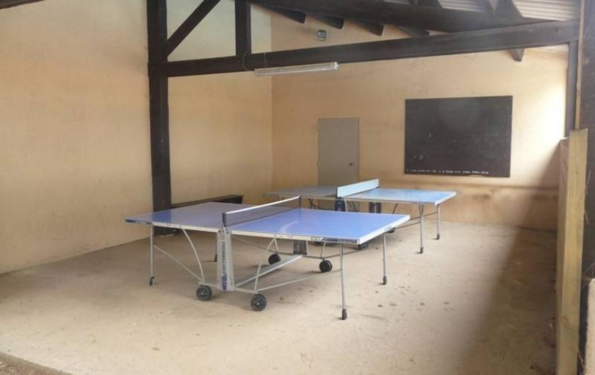 Location de vacances - Studio à Le Cap d'Agde - Les tables de ping-pong (gratuit)