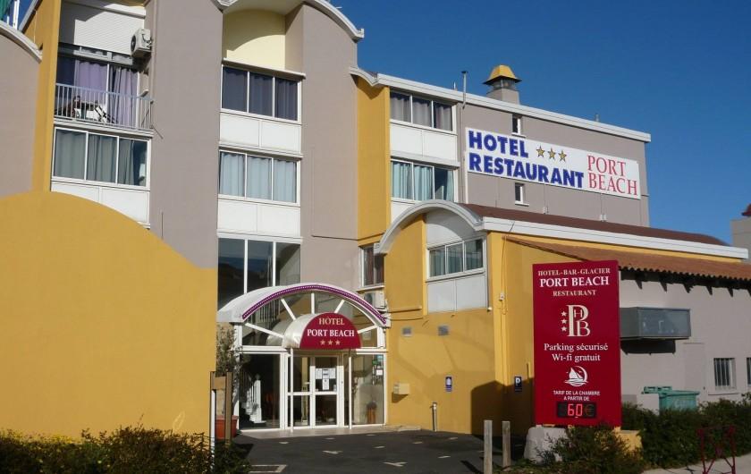 Hotel Port Beach à Gruissan Aude - Hotel port beach gruissan
