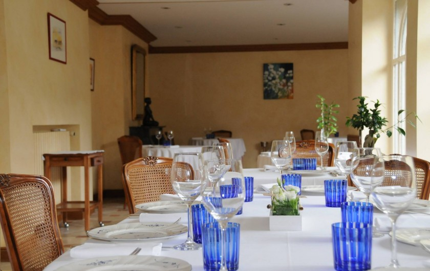 Location de vacances - Hôtel - Auberge à La Roche-Bernard - La salle de restaurant